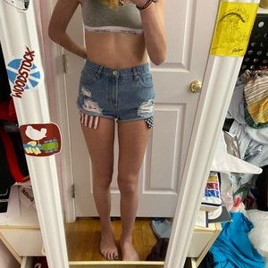 Forever 21 USA Jean Shorts